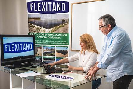 Centro de trabajo Flexitanq