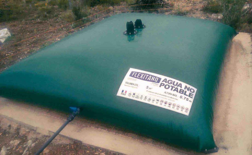 Depósito para agua de riego de 5 m3